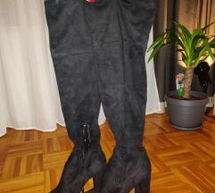 Visoke čizme Bershka