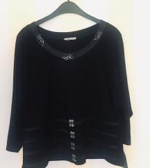 Lavertue crna svečana bluza NOVO s etiketom