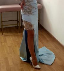 Prekrasna plava haljina