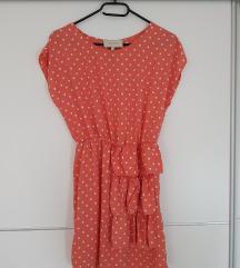 River Island ljetna haljina na točkice