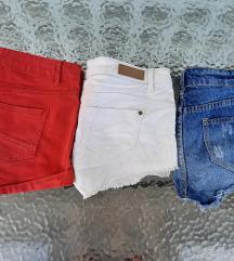 LOT kratke hlače vel 38 SNIŽENJE!50% 59KN
