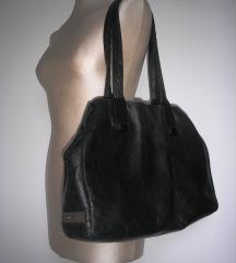 Grošelj kožna velika torba