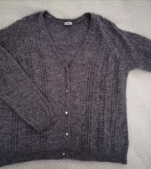Pimkie siva vesta / kardigan / pulover