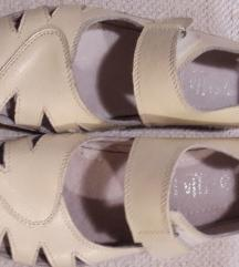 Rubber kožne sandale