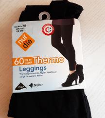 Nove crne termo tajice/čarape