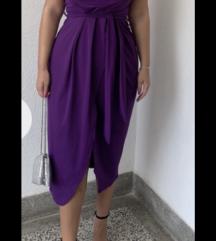 Svečana ljubičasta haljina