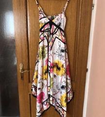 Ljetna asimetrična haljina
