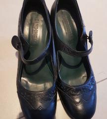 Kožne crne cipele za ples