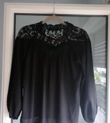 Crna bluza dugih rukava