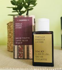 Korres Vanilla Freesia Lychee edp 50ml