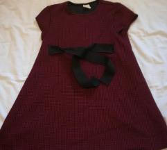 Haljina s mašnom Zara