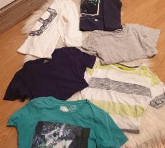 Lot majice 134-140
