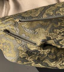 H&M cropped jakna (zlatni detalji)
