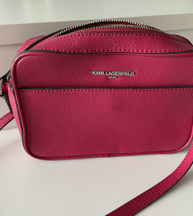 Karl Lagerfeld fuksija torbica