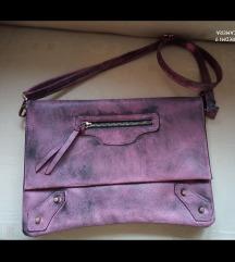 NOVA prljavo roza torba