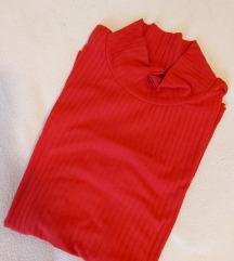 Crvena dolčevita kratkih rukava
