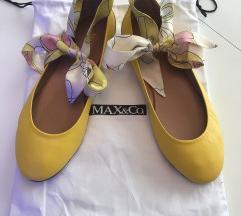 Max&Co žute balerinke