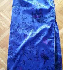 ZARA  orijentalna suknja u japanskom stilu