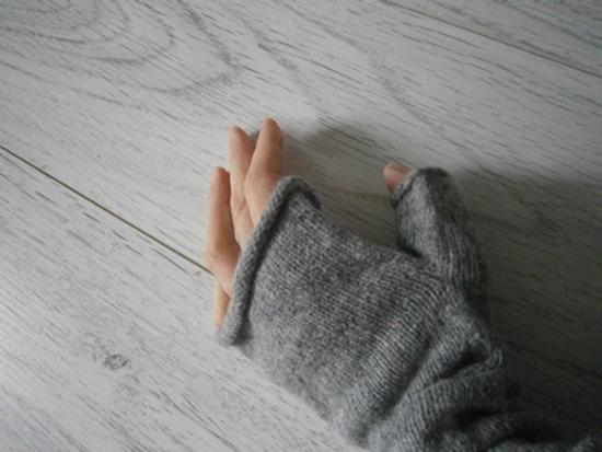 Rukavice bez prstiju/grijači za ruke