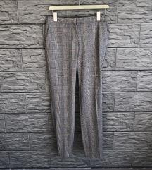 REZ ZARA karirane hlače M