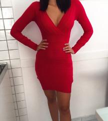 Sexy crvena haljina
