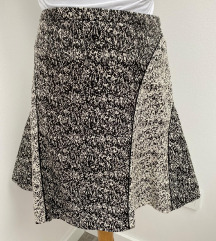H&M siva suknja