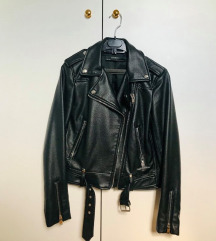 ZARA faux leather jakna
