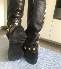 Čizme za kišu (guma/koža)