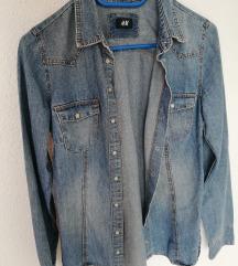 H&M jeans jaketa %%%% SNIZENO