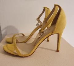 Franco stikle sandale zute