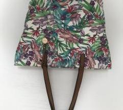 Šarena torba s printom lišća