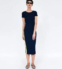 Zara knit midi haljina