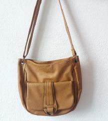 Smeda vintage torbica torba