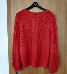 Crveni pulover lindex