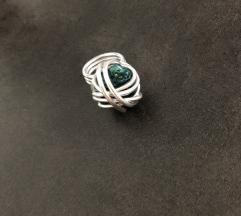 Unikat metaln prsten