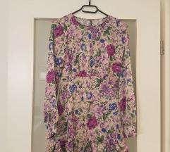 Zara like cvjetna haljina NOVA