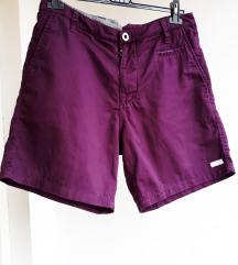 Ljubičaste pamučne hlače