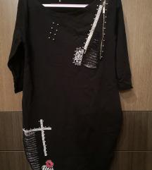 Krasna crna tunika L