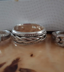 Srebro 925-tri prstena za 200kn