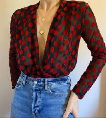 Zara točkasta bluza s pt