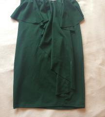 ❗️ RASPRODAJA ❗️ Tamnozelena uska suknja
