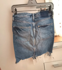 H&M jeans suknja SA POSTARINOM