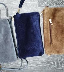 Novo plisane torbice