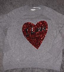 H&m sivi pulover