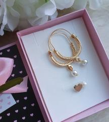 Pozlacene konavoke i nevidljiva ogrlica