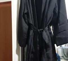 H&M sexy ogrtač crni