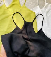 Svileni lepršavi ljetni topovi/majice