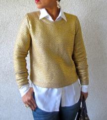 H&M zlatna majica