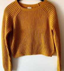 Žuta majica dzemper