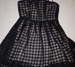 Crna haljina Naf Naf